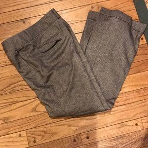 NWOT Banana Republic Martin Grey Herringbone Pants